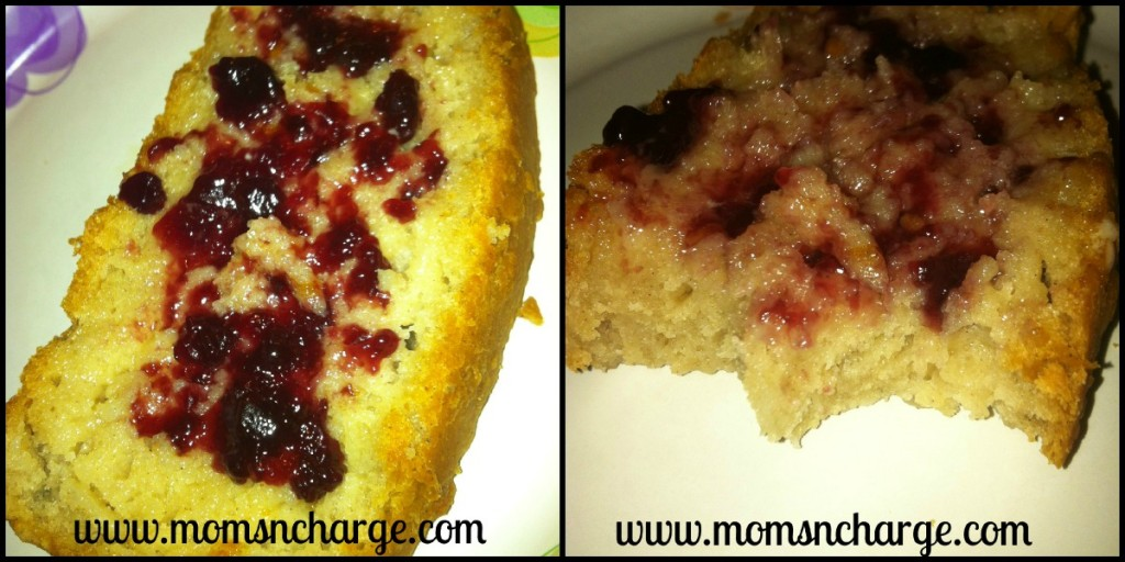Vegan Gluten-free bread vegan butter and jelly