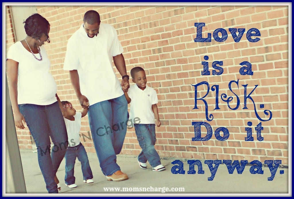 Love is a RISK watermark