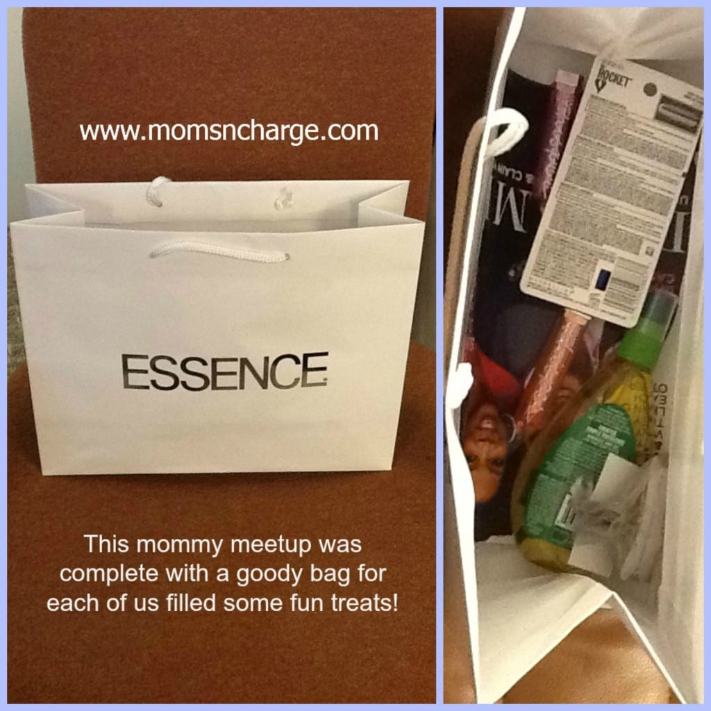 swag bag - essence moms