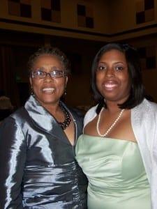 Chrystal and mom