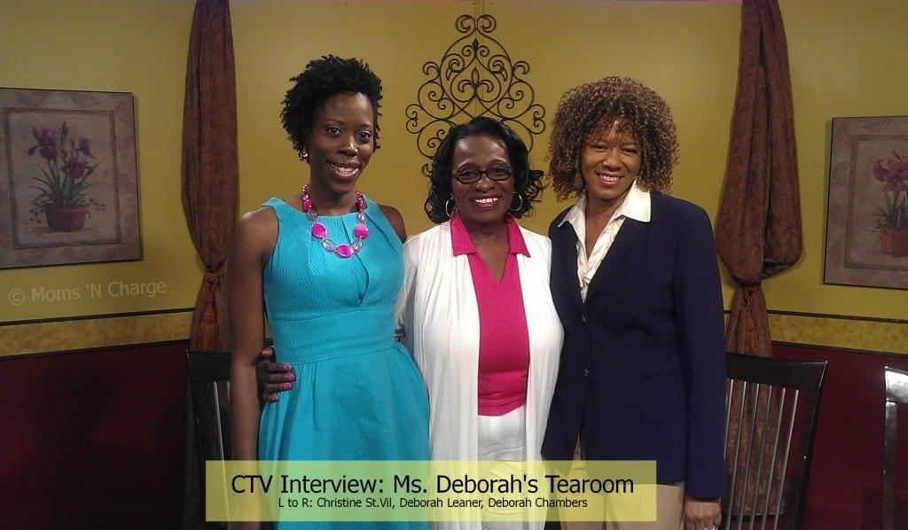 CTV interview - MD tearoom 4