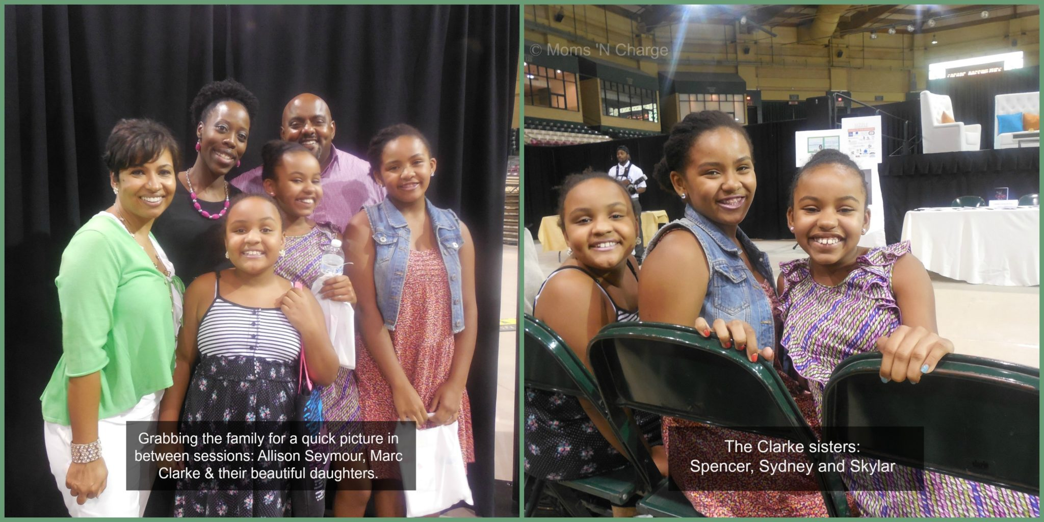 create your own sizzle recap highlights moms n charge reg  marc clarke and allison seymour family