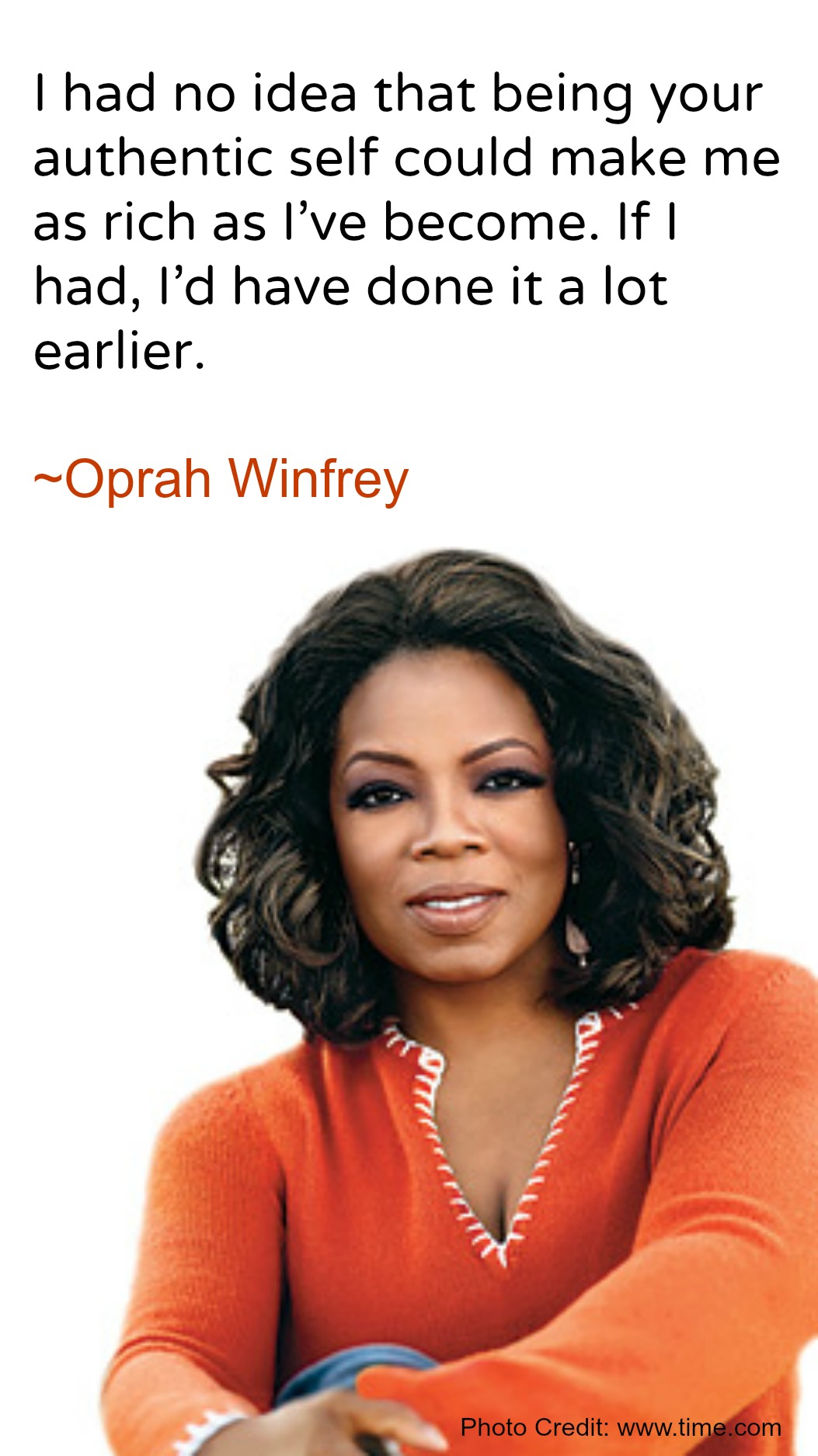Quote Meme | Oprah Winfrey Meme Quote Moms N Charge