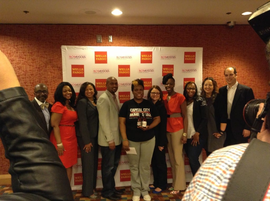 Blogalicious 5 -perfect pitch finalists and judges