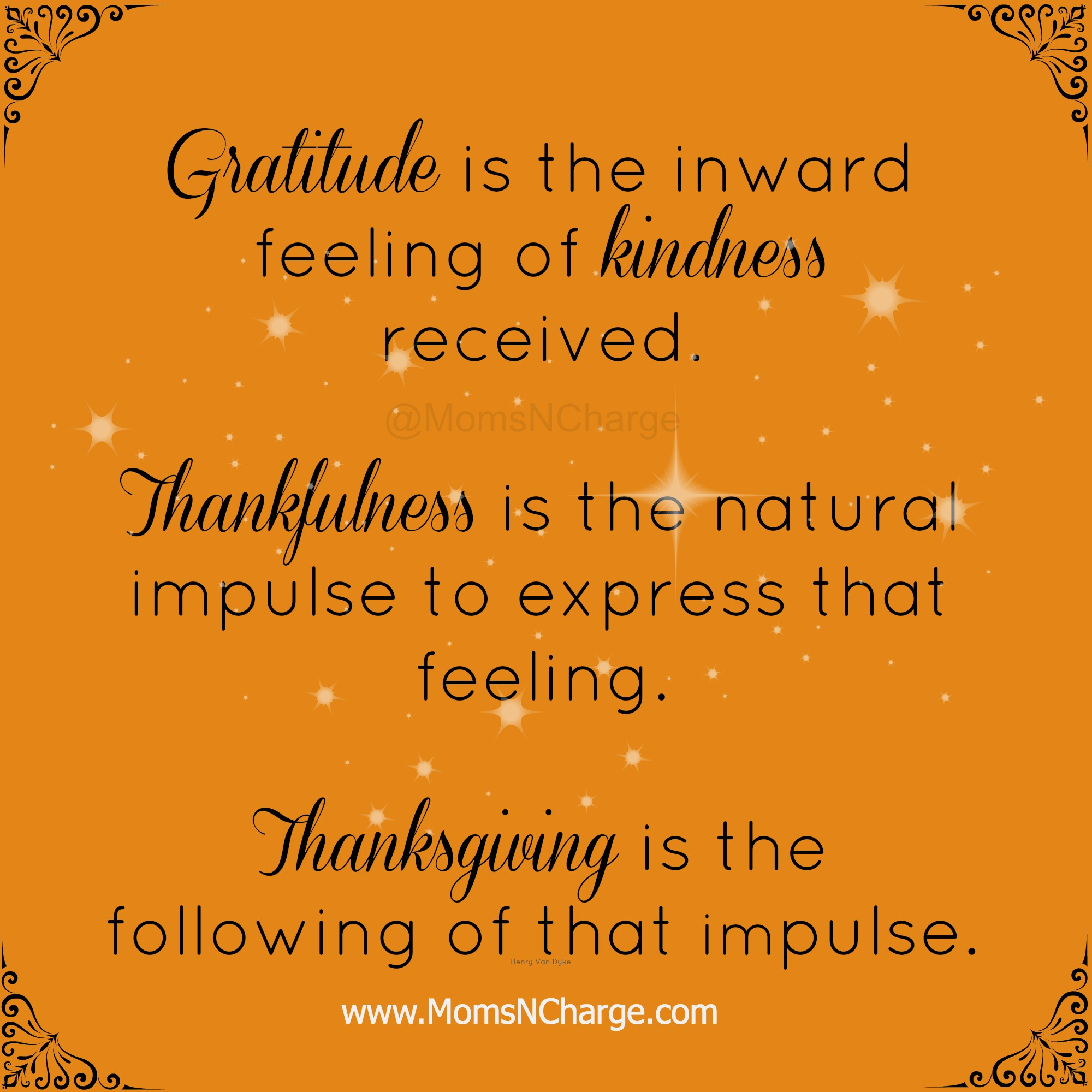 Gratitude - Thanksgiving
