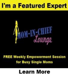 mom-in-chief button