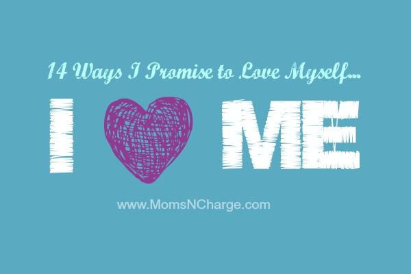 14 ways I love myself