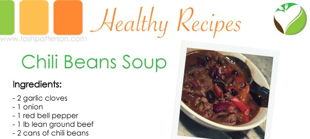 Moms 'N Charge Tasty Thursday: Chili Beans Soup - Moms 'N Charge