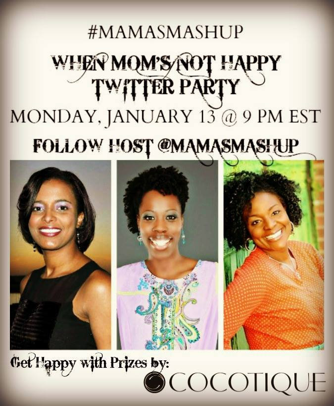 Mamas Mashup Cocotique twitter party