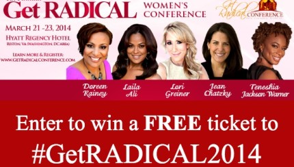 Get RADICAL women's conference giveaway
