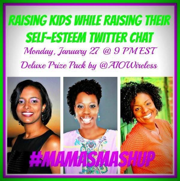 Mamas Mashup - raising kids self-esteem