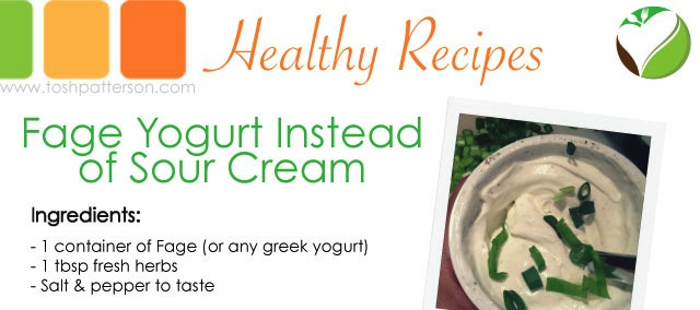 Fage Yogurt Instead of Sour Cream by Tosh Patterson