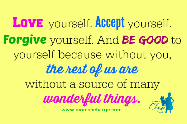 Love yourself - positivity quote