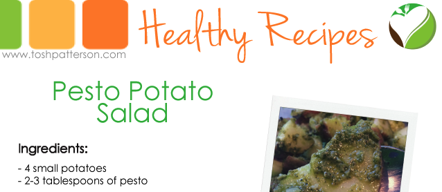 Pesto Potato Salad by Tosh Patterson