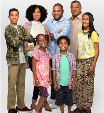 Black-ish ABC family photo