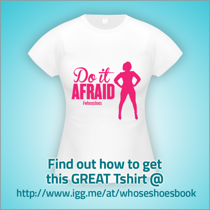 Do it Afriaid with graphic