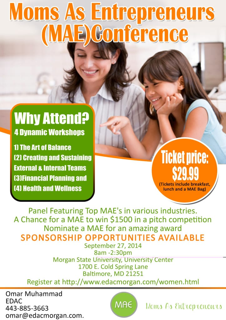 MAE conference flyer