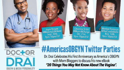 #AmericasOBGYN twitter party 2