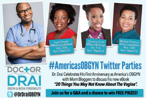 #AmericasOBGYN twitter party 2