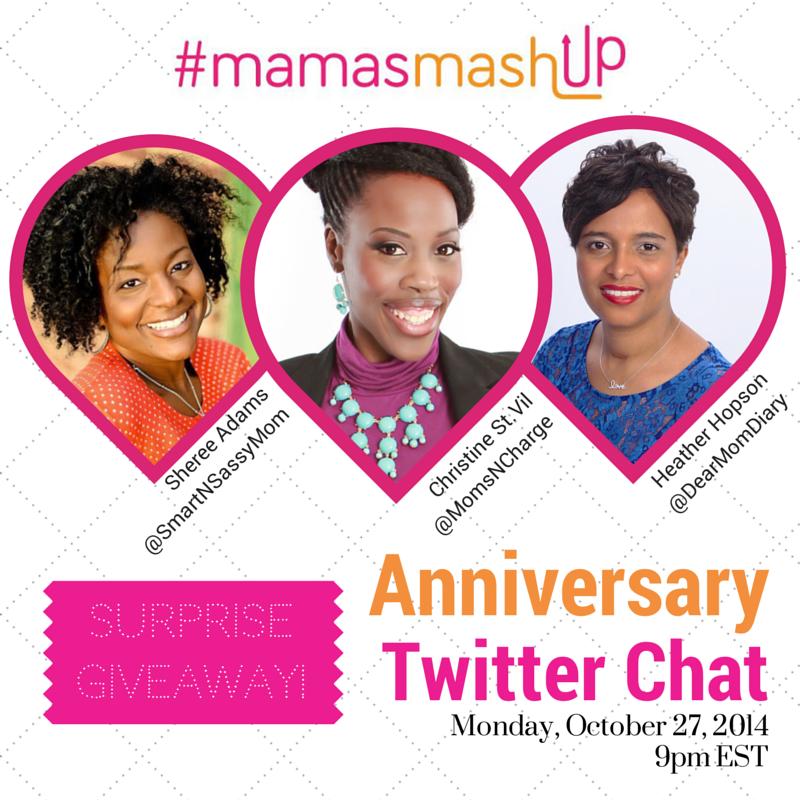 #MamasMashupAnniversaryChat