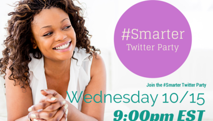 #smarter living  twitter party