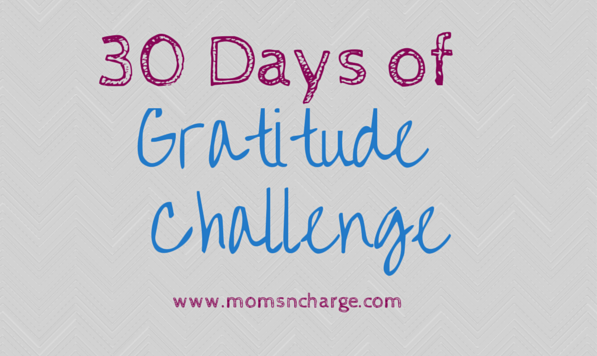 30 days of Gratifude Challenge