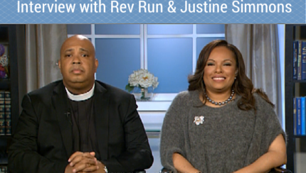 Interview with Rev Run & Justine Simmons