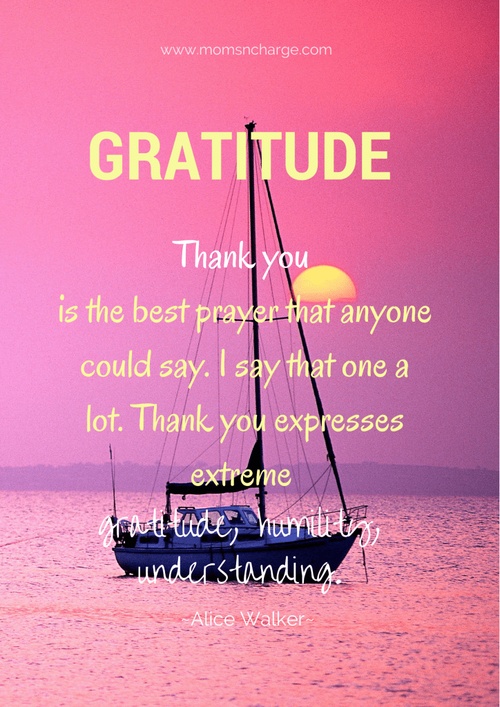 gratitude quote  Thanksgiving