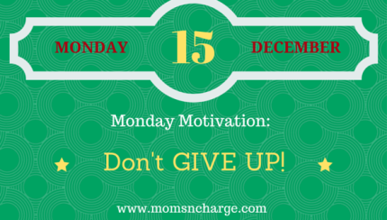 motivational quote - don't give up 12.15.14