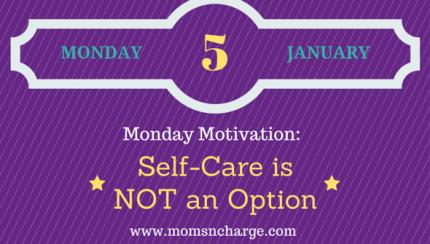 Monday motivation - self-care feature