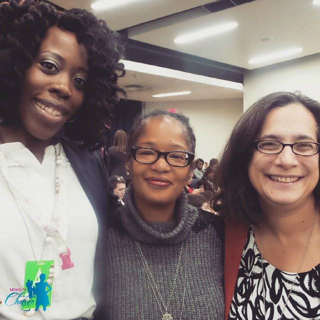 With Ananda Leake (#DigitalSisterhood) and Amy Vernon (AmyVernon.net), such great peeps!