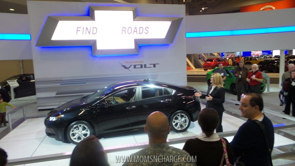 Washington Auto Show Chevy Volt 2