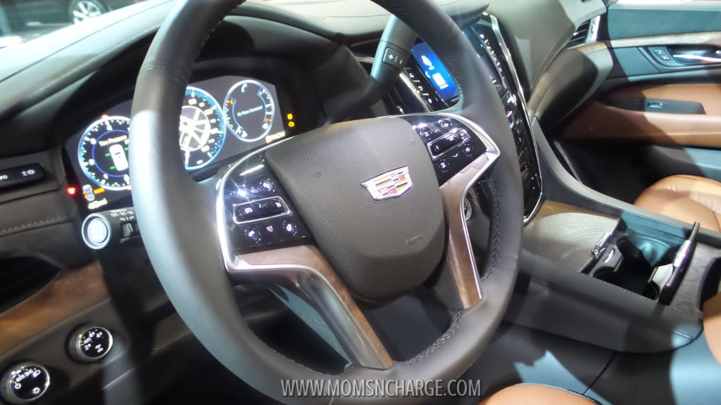 Washington Auto Show Escalade interior