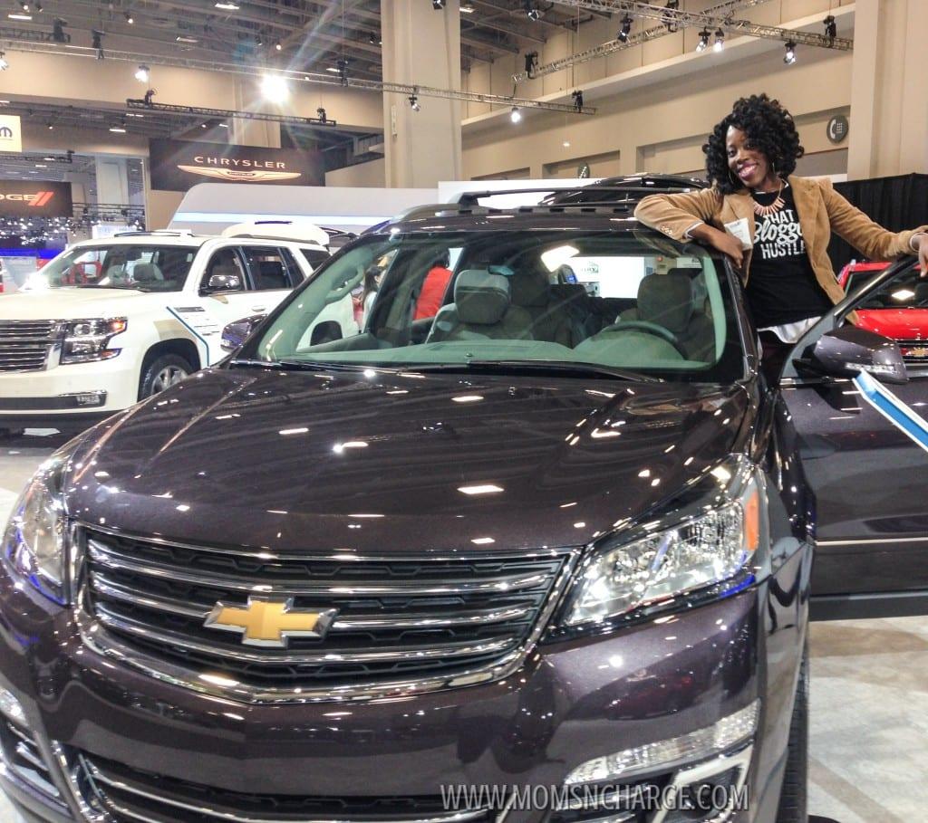 Washington Auto Show Traverse