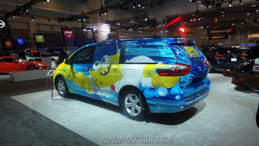 Washington Auto Show spongebob