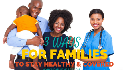 3 ways for families to stay healthy