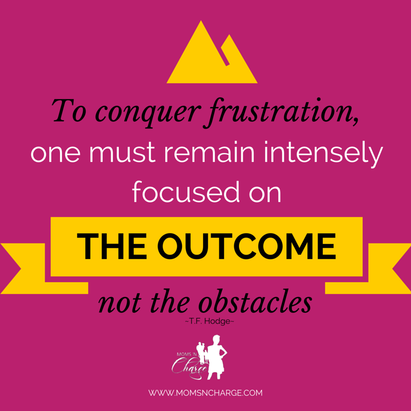 focus on the outcome #momsncharge