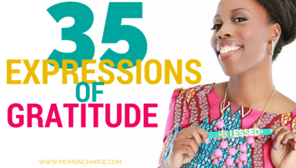 35 Expressions of gratitude MomsNCharge