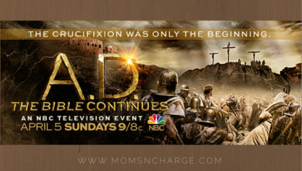 A.D. series bible continues review