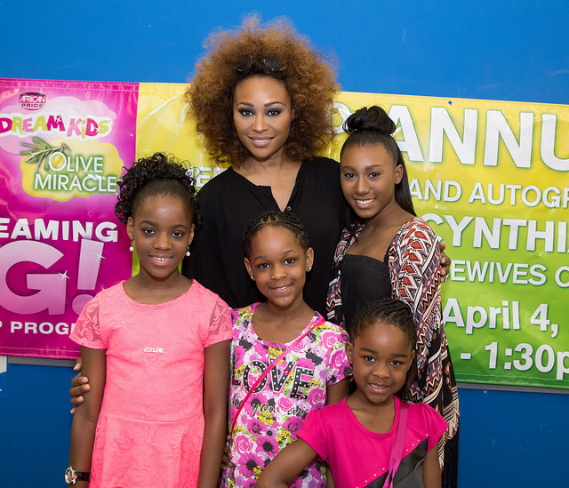 Cynthia Bailey & Noelle Robinson with guests