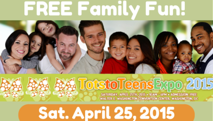 Tots to Teens expo 2015 - momsncharge
