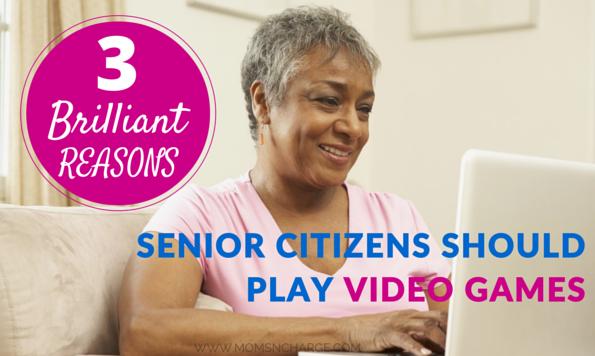 3 REASONS senior citizens should play video games