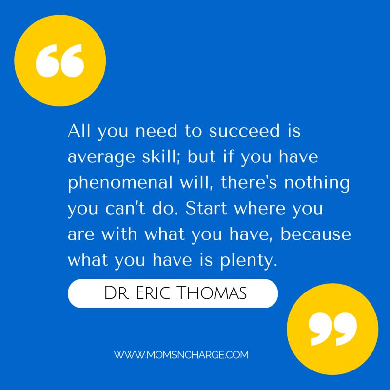 Eric Thomas quote - success