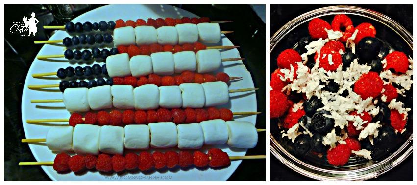 Moms N Charge - Fox 45 Memorial Day berry skewers