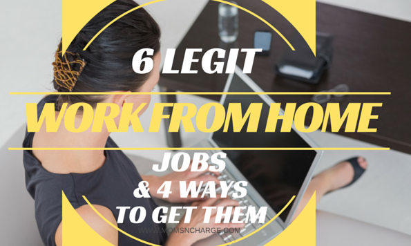 legitimate work from home jobs usa