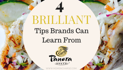 4 BRILLIANT tips from Panera Bread - Moms N Charge