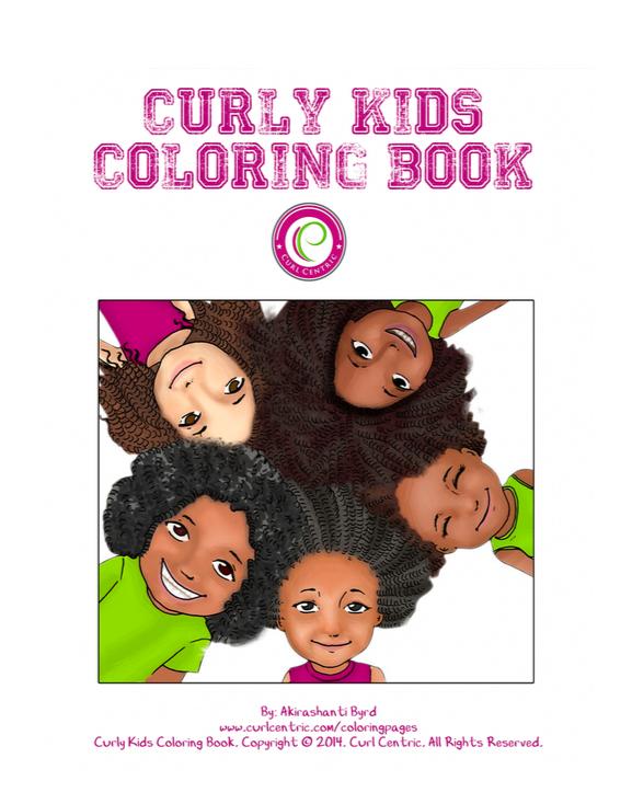 CurlyKidsColoringBookFullCover2