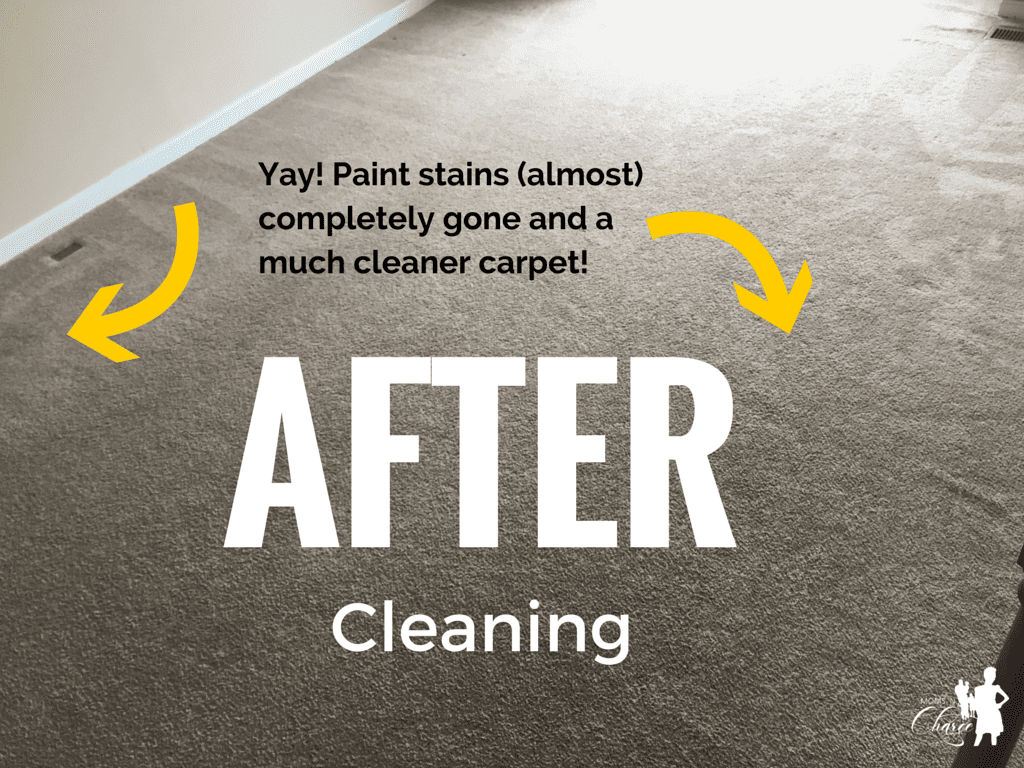 Home Advisor - AFTER carpet cleaning - momsncharge