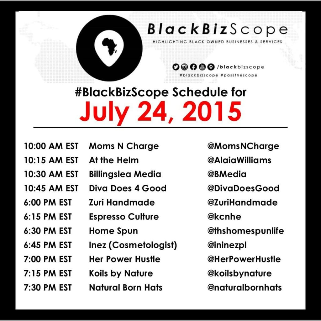 #BlackBizScope - July 24