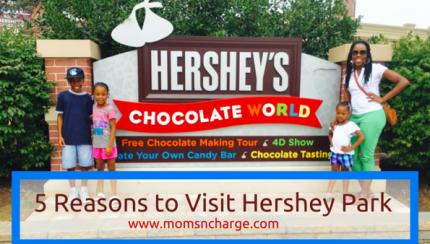 5 Reasons to visit Hershey Park